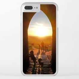 Glastonbury Portal Of Life Clear iPhone Case
