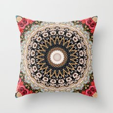 Mandala Hahusheze  Throw Pillow