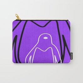 Bagpiper and penguin Carry-All Pouch
