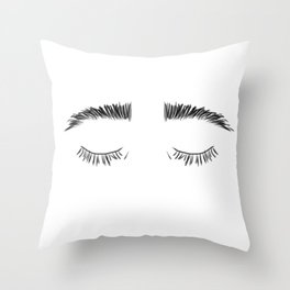 Browz Throw Pillow