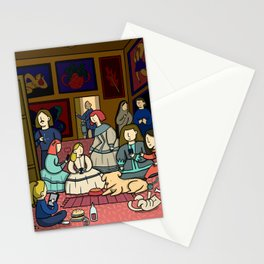 Re-make of Las Meninas Stationery Cards