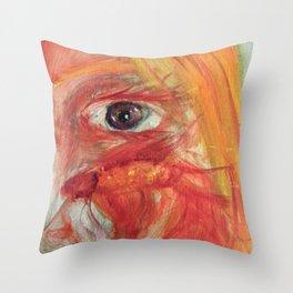 Fish Eye III Throw Pillow