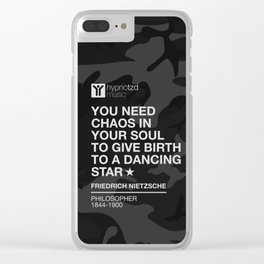 You Need Chaos In Your Soul Clear iPhone Case
