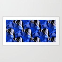 3D abstraction -03a- Art Print