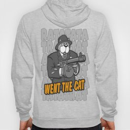 RATATATAT Went The Cat Hoody