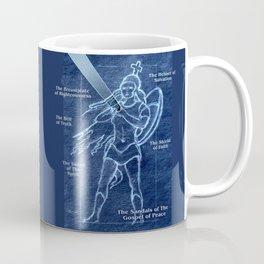 Full Armor of God - Warrior Girl 2 Coffee Mug