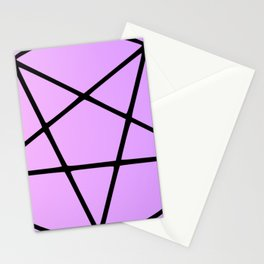Pastel Pentacle Stationery Cards