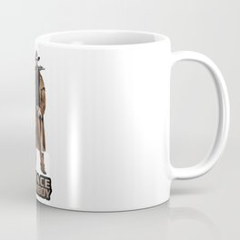 Space Cowboy Cropped Coffee Mug
