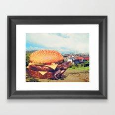 Con Queso Framed Art Print
