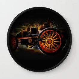 Fractal car vintage car2 Wall Clock