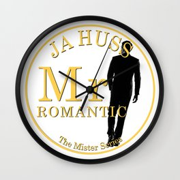 Mr. Romantic - By JA Huss Wall Clock