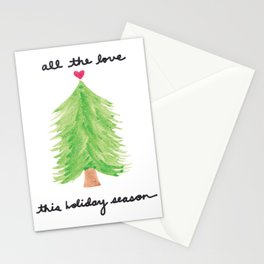 All the Love this Christmas Stationery Cards