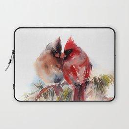 Cardinal Birds Couple Laptop Sleeve