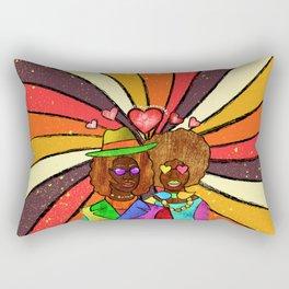 70's Love Rectangular Pillow