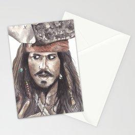 Black Pearl's Capt. Jack Sparrow Stationery Cards