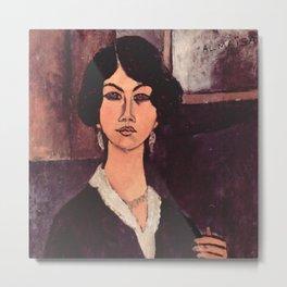 """Amedeo Modigliani """"Almaiisa Seated"""" Metal Print"""