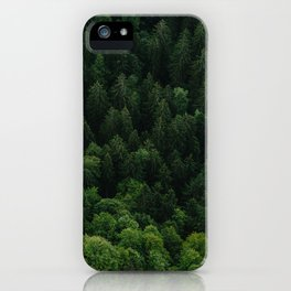 Swiss forest iPhone Case