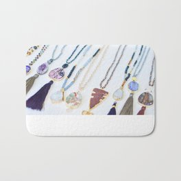 Quest Stones Boho Jewelry Bath Mat