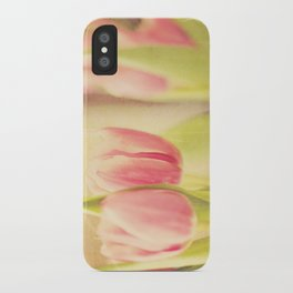 Vintage Tulips iPhone Case