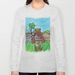 African Cat Long Sleeve T-shirt