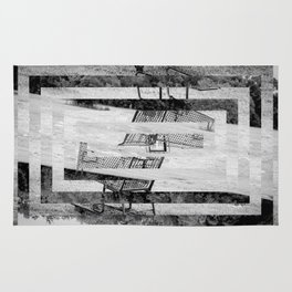 Lonely Trolley Rug