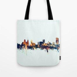 Buffalo New York Skyline Tote Bag