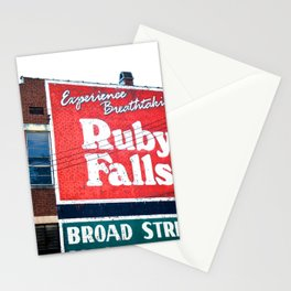 Ruby Falls Stationery Cards