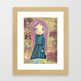 School Daze - Creepy Cutie Claudia Framed Art Print