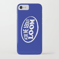 monkey island iPhone & iPod Cases featuring Monkey Island - Ask me about Loom by Sberla