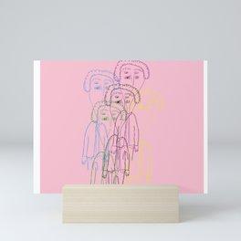 Kurt Vonnegut Mini Art Print