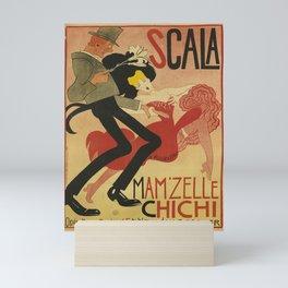 scala   mamzelle chichi  oude poster Mini Art Print