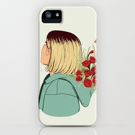 Flower Boy 02 iPhone Case