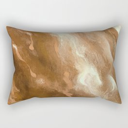 In the Company of Myself: Abstract #5 Rectangular Pillow