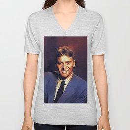 Burt Lancaster, Vintage Actor Unisex V-Neck