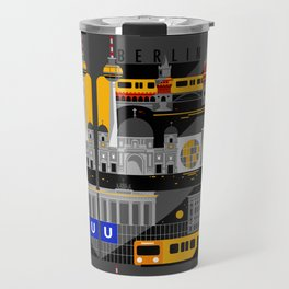 Berlin at Night Travel Mug