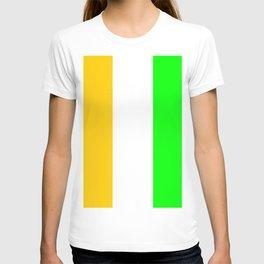 flag of ivory coast 2-africa,ivorian,ivoirian,cote d'ivoire,ivorien,abidjan,yamoussokro T-shirt