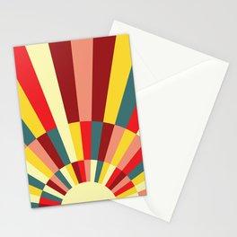 Retro Sun Stationery Cards