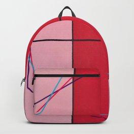 August - triple hex Backpack