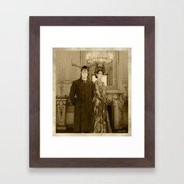 Dark Victorian Portrait Series: A Midsummer's Night Gala Framed Art Print