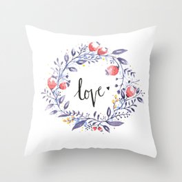 Show Your Love Throw Pillow