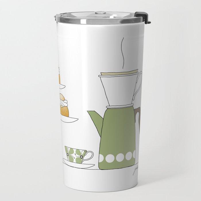 Fika with Semlor Travel Mug