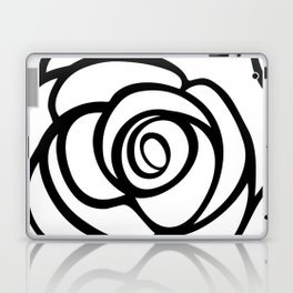 Rose Illustration by Marie-Laurence Monet Laptop & iPad Skin
