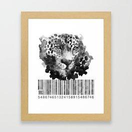 Jaguar Code Framed Art Print