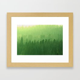 Lush Minnesota Framed Art Print