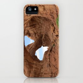 Faces of Nature iPhone Case