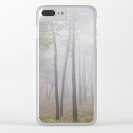 """""""Deep forest"""". looking for the sun .... Clear iPhone Case"""