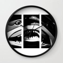 Shark Dentures Wall Clock