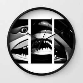 Shark Dentures Wall Clock