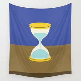 Time is Almost Up! Wall Tapestry