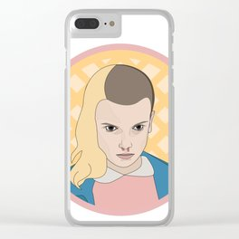 ELEVEN WAFFLE Clear iPhone Case